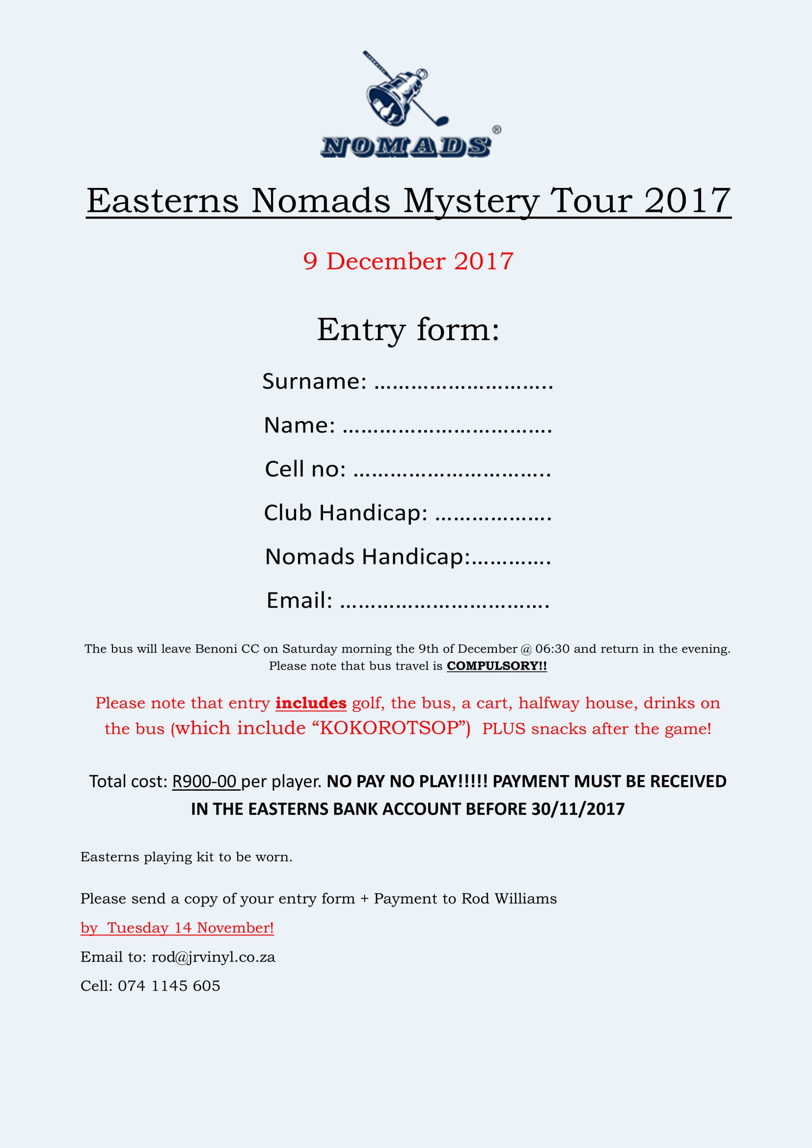 Mystery Tour 2017 Entry Form 1